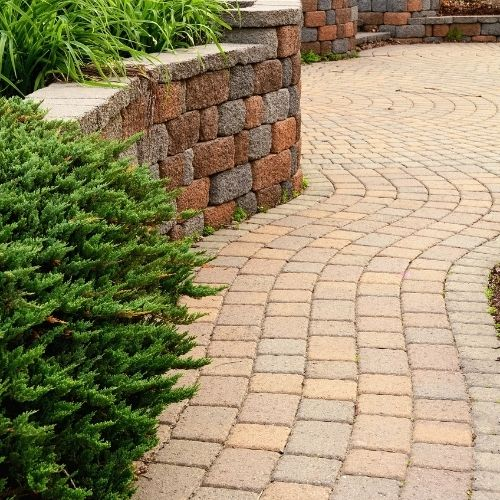 backyard retaining wall ideas and design deal construction inc