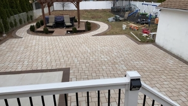concrete patio installation deal construction inc