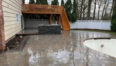 concrete patio services nj deal construction inc